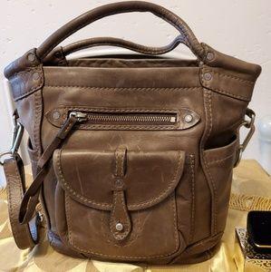 Abercrombie & Fitch Genuine Leather Handbag.